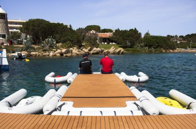 Photo of inflatable platforms by Nautibuoy Marine
