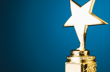Photo of gold star on a trophy representing the most profitable product line or platform in your business